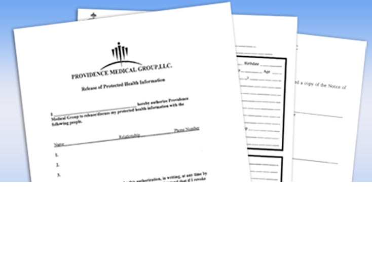 Pre-Registration Forms